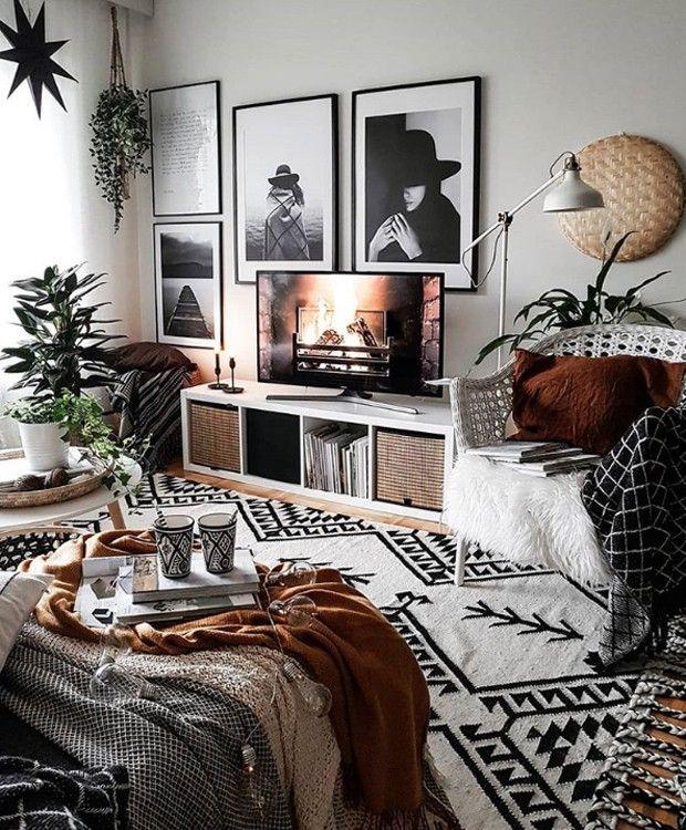 8 dicas para adotar o estilo boho na decoração da sua casa #bedroomapartment