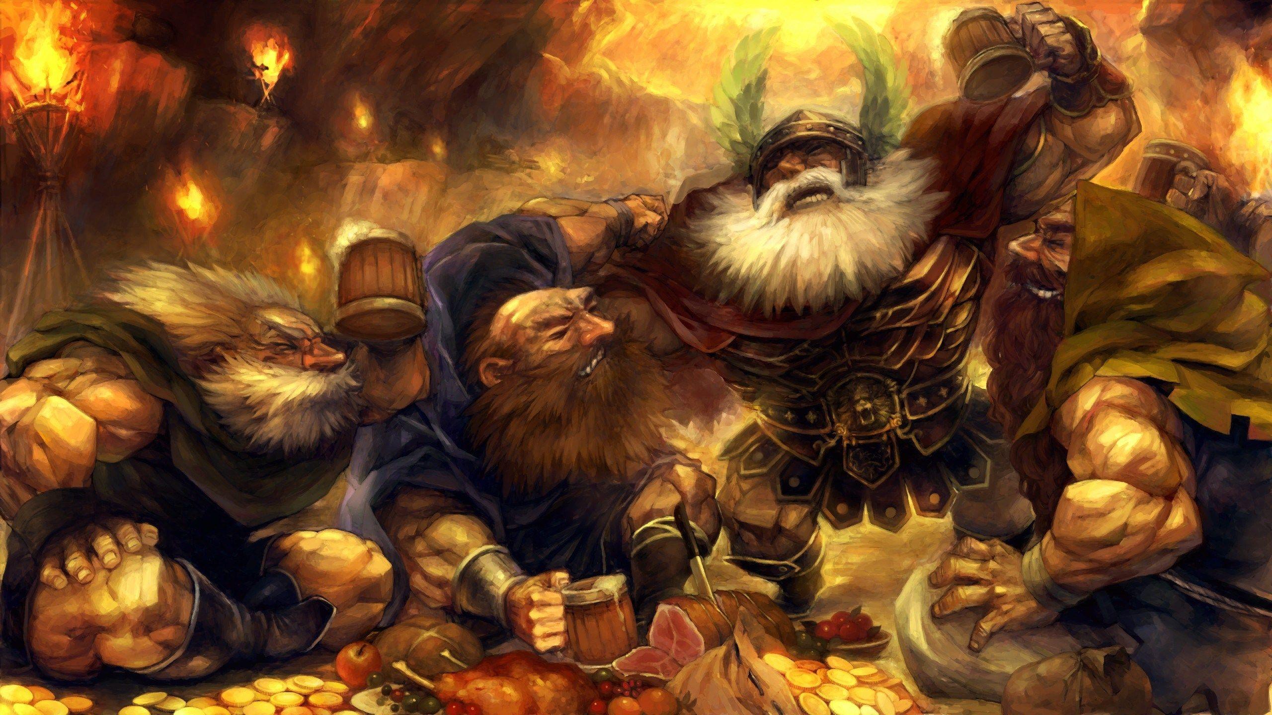 2560x1440 Dragons Crown Game Wallpaper In 2019 Dragons