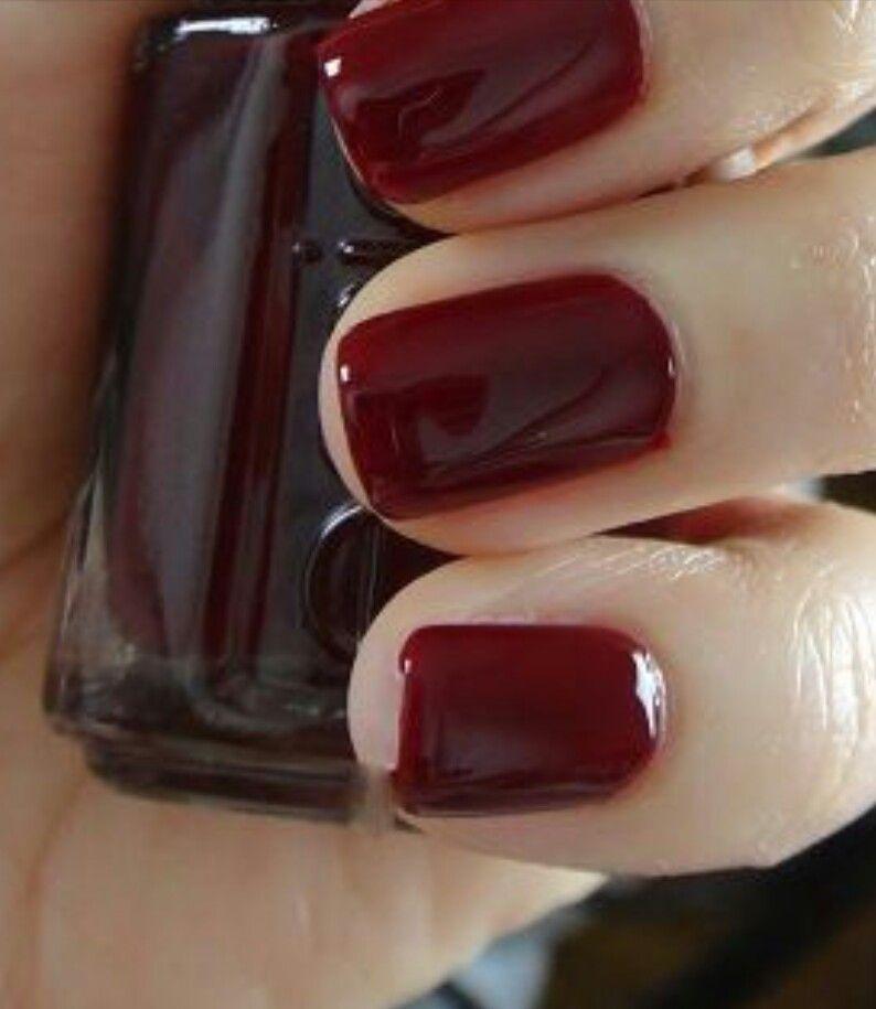 Essie Oxblood Red Nail Polish | Hair & Beauty that I love ...