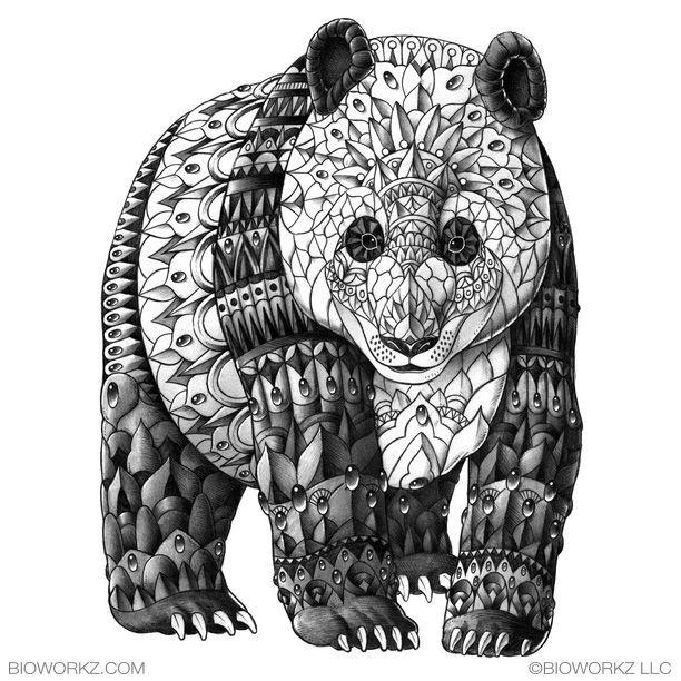 Panda by BioWorkZ on deviantART