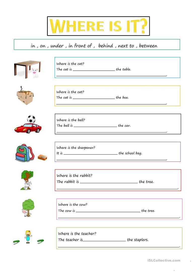 PREPOSITIONS worksheet - Free ESL printable worksheets made by teachers    Preposition worksheets [ 1079 x 763 Pixel ]