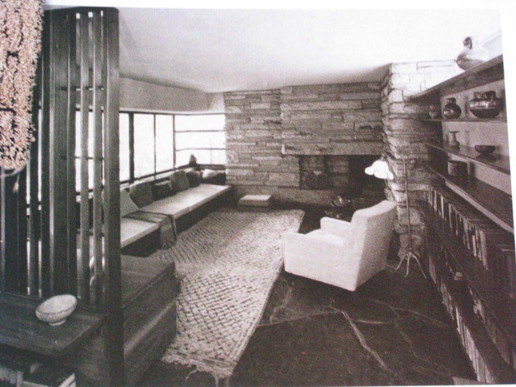 Wooly Rug Room By Frank Lloyd Wright