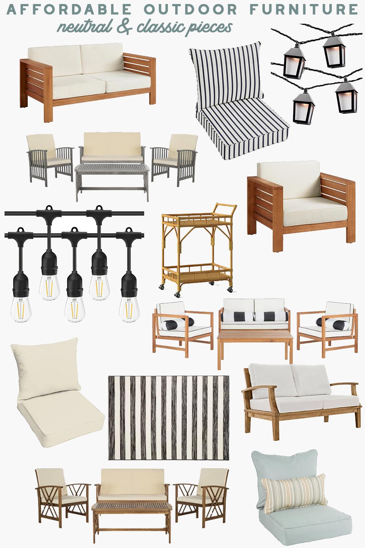 Affordable Outdoor Furniture For Summer Affordable Outdoor Furniture Outdoor Furniture Plans Outdoor Wood Furniture
