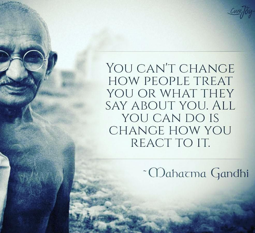 #wordsofthewise #gandhiquotes #wisewords #instaquote #realish by @brithebeau via http://ift.tt/1RAKbXL