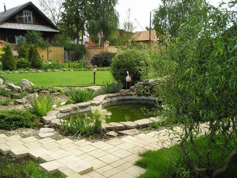 Оригинальное оформление сада: реальные фото | Ландшафтный ...