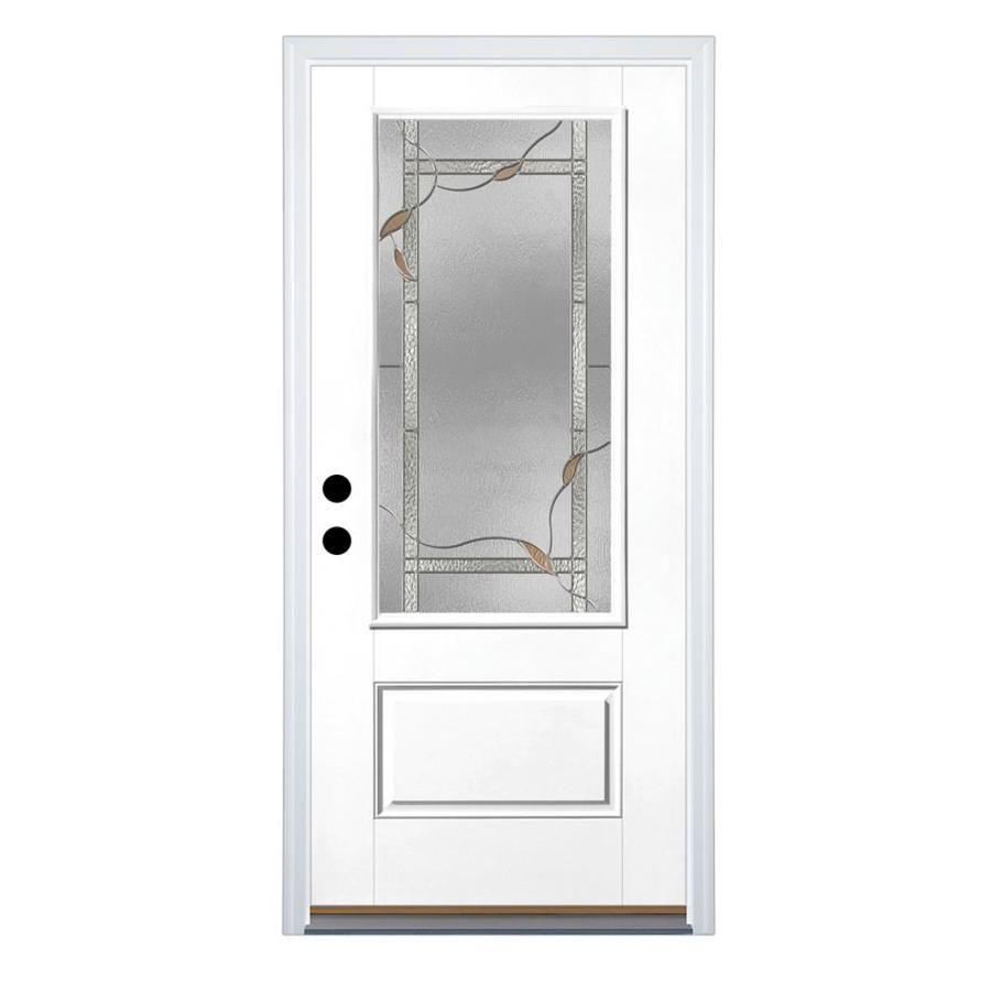 Nice With Plain Glass Window Therma Tru Benchmark Doors Ashleigh