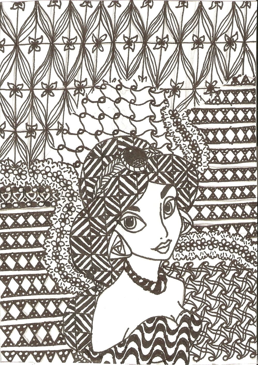 Disney zentangle coloring pages - Find This Pin And More On Disney