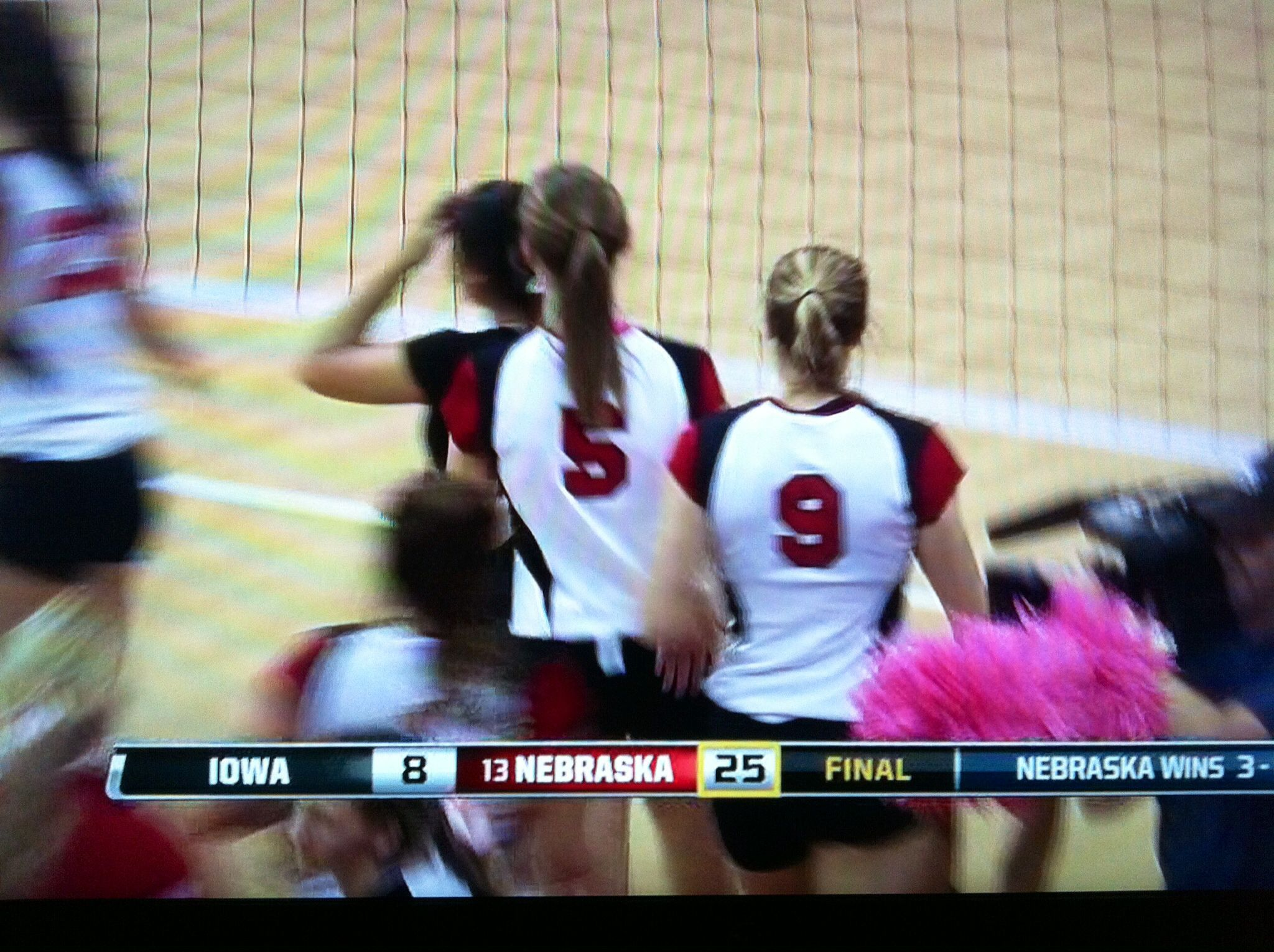 10/23/13 vs Iowa 3rd and final set