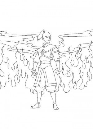 Avatar coloring page 25 | coloring pages | Pinterest