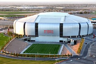 University Of Phoenix Stadium Home Of The Arizona Cardinals 2 Words Retractable