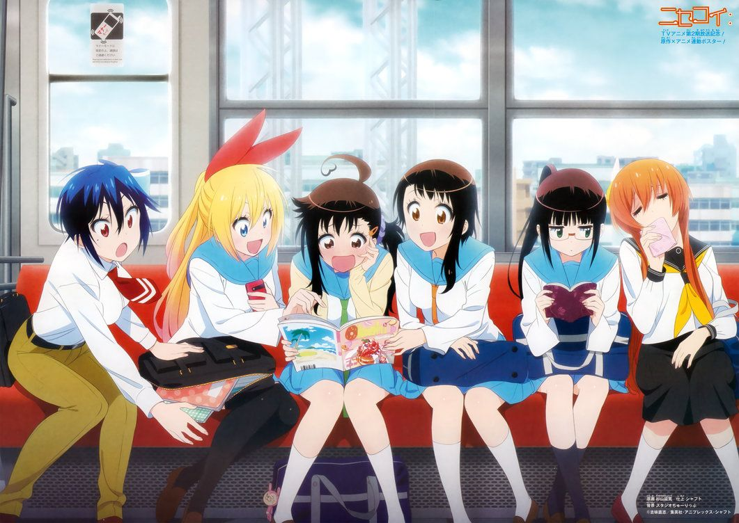 Nisekoi Season 2 Wallpaper by corphish2 on DeviantArt | ❤Nisekoi ...