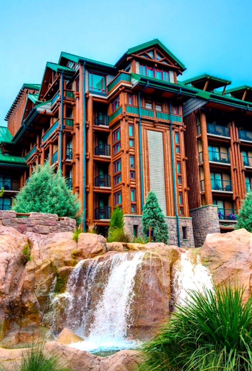 The Falls At Wilderness Lodge Disney world resorts