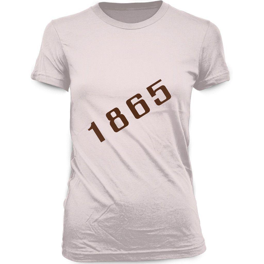 1865 - WOMEN'S BLACK HISTORY T-SHIRT