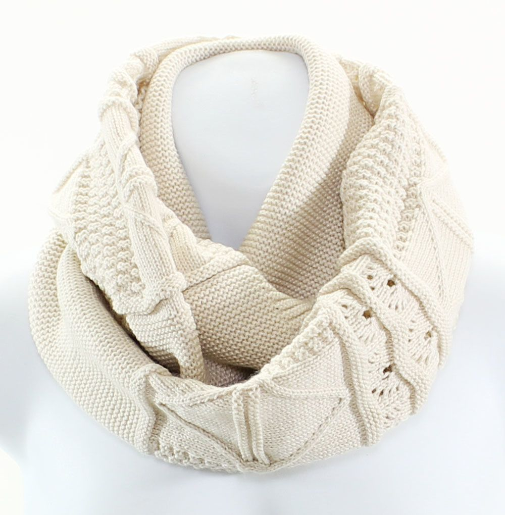 Aran Cable Knit Infinity Scarf   Products   Pinterest