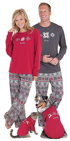 7d4f25b3db1a His and Hers Pajamas - 15 Pairs of Matching Pajamas for Couples ...