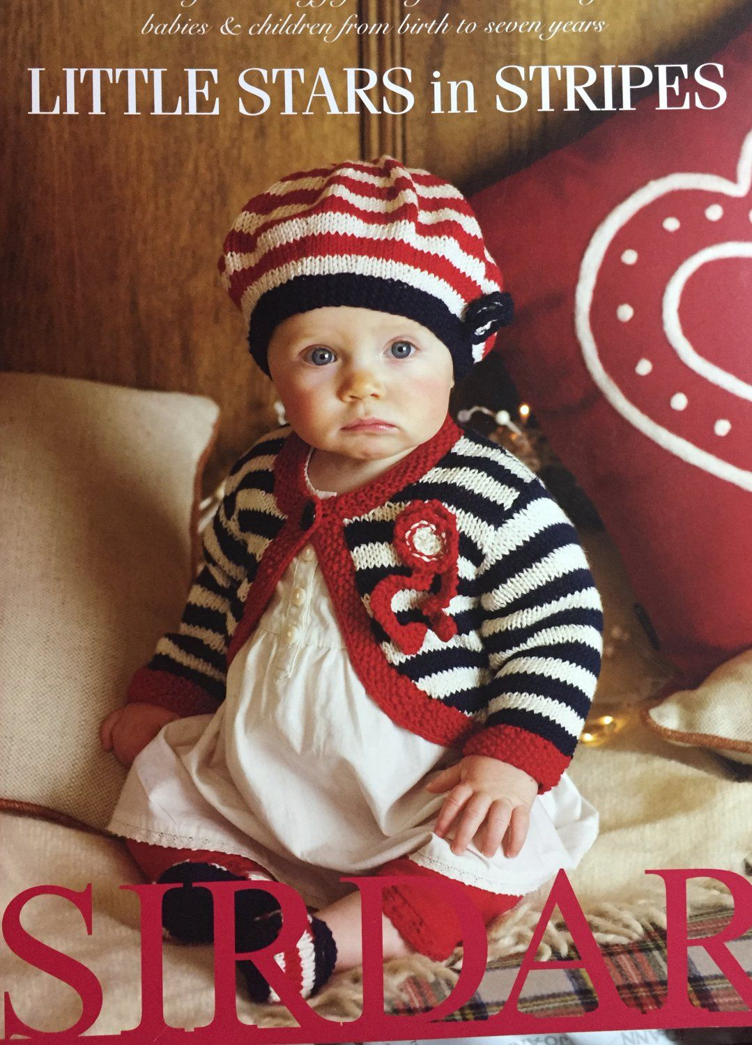 Little Stars in Stripes - Sirdar Knitting Pattern Book 355 - NB-7yrs ...