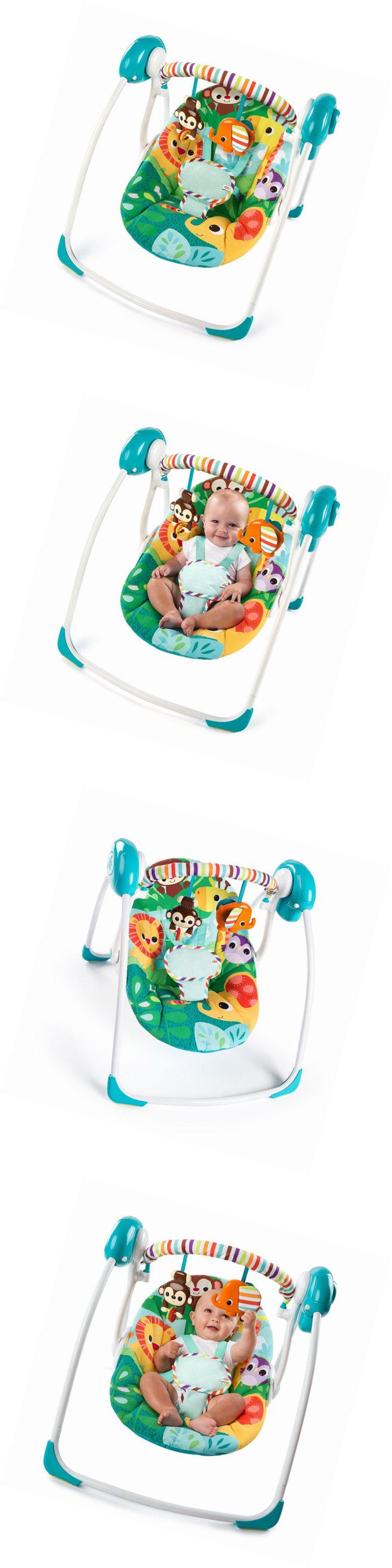 1793fcc2d Bright Starts™ Safari Surprise Portable Swing