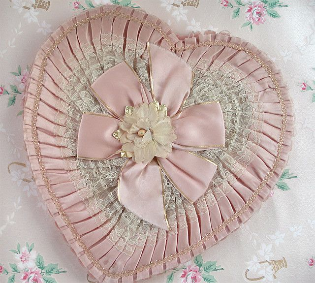 Vintage Valentine Candy Box - I can remember these so well! Daddy gave both of us (my sis and I) and Mamma each one every valentines day!