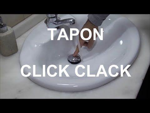 Tapon Lavabo.Tapon Click Como Poner Una Valvula De Lavabo Click Clack