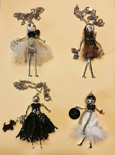 ultimo stile calzature chiaro e distintivo Bamboline fai da te Galliana | ciondolo bambolina ...