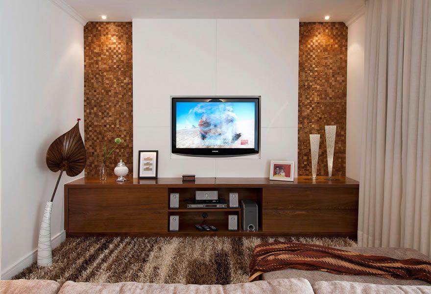 Home Para Sala De Tv Pequena ~ sala de tv pequena planejada 6  jô  Pinterest  Sala de tv pequena