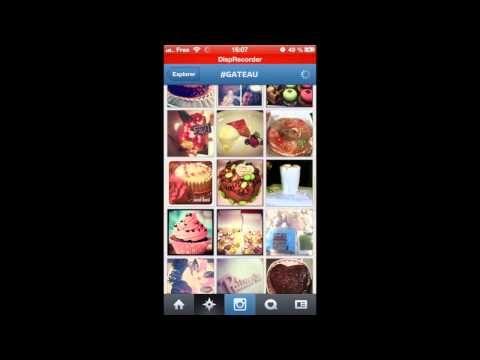 Appli 5 : Instagram