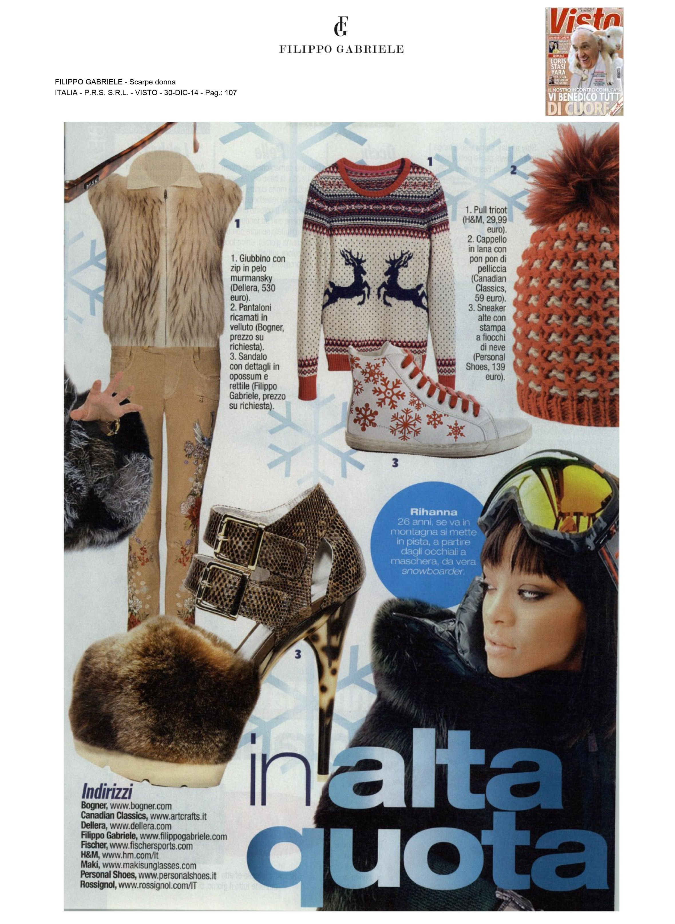 Filippo Gabriele on VISTO #magazine #press #italy