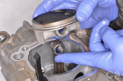 Kx250f Piston Inspection And Replacement Top End Kawasaki Kx250f