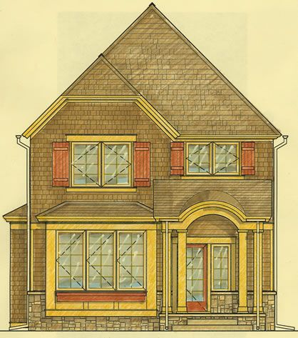 Small Cottage Plans - 3 Bedrooms, Fits on a Very Narrow ...