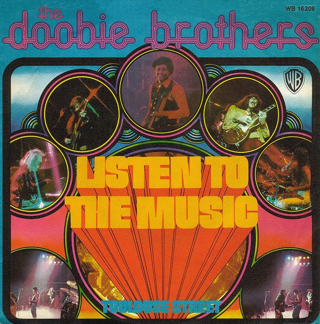 lyrics listen to the music the doobie brothers