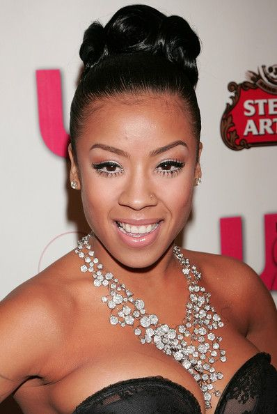 Keyshia cole diamond chandelier necklace keyshia cole keyshia cole diamond chandelier necklace wow keyshia is wearing serious bling with this diamond chandelier necklace aloadofball Choice Image