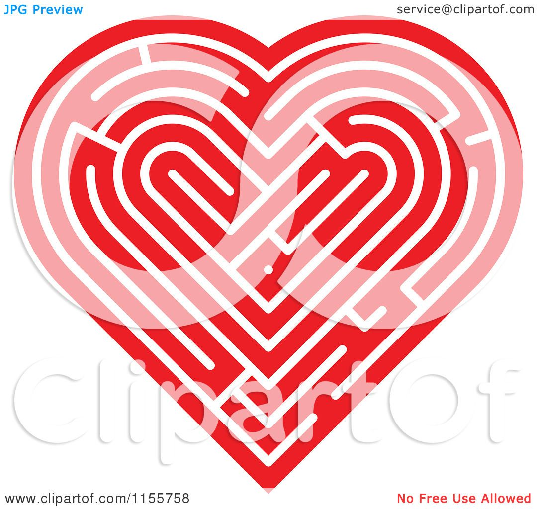 Clipart-Of-A-Red-Labyrinth-Heart-Royalty-Free-Vector-Illustration-10241155758.jpg (1080×1024)