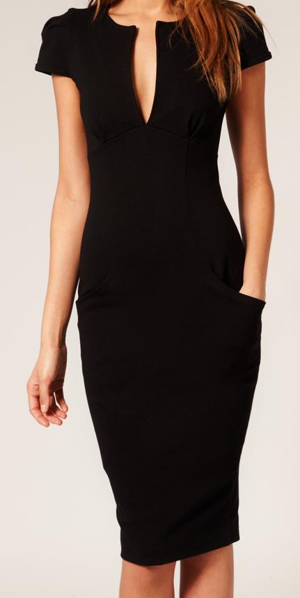 Black pencil dress australia