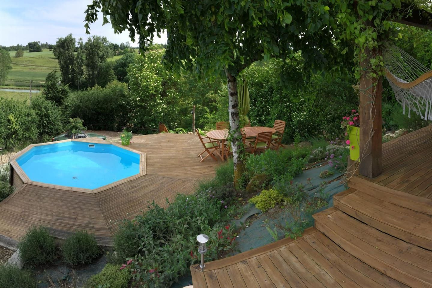 Steps To Pool And Terrace Cottages Beautiful Huisjes
