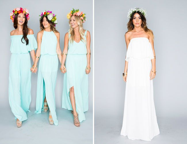 Show Me Your Mumu Bridesmaids Collection + A Bridal Party Dress Giveaway