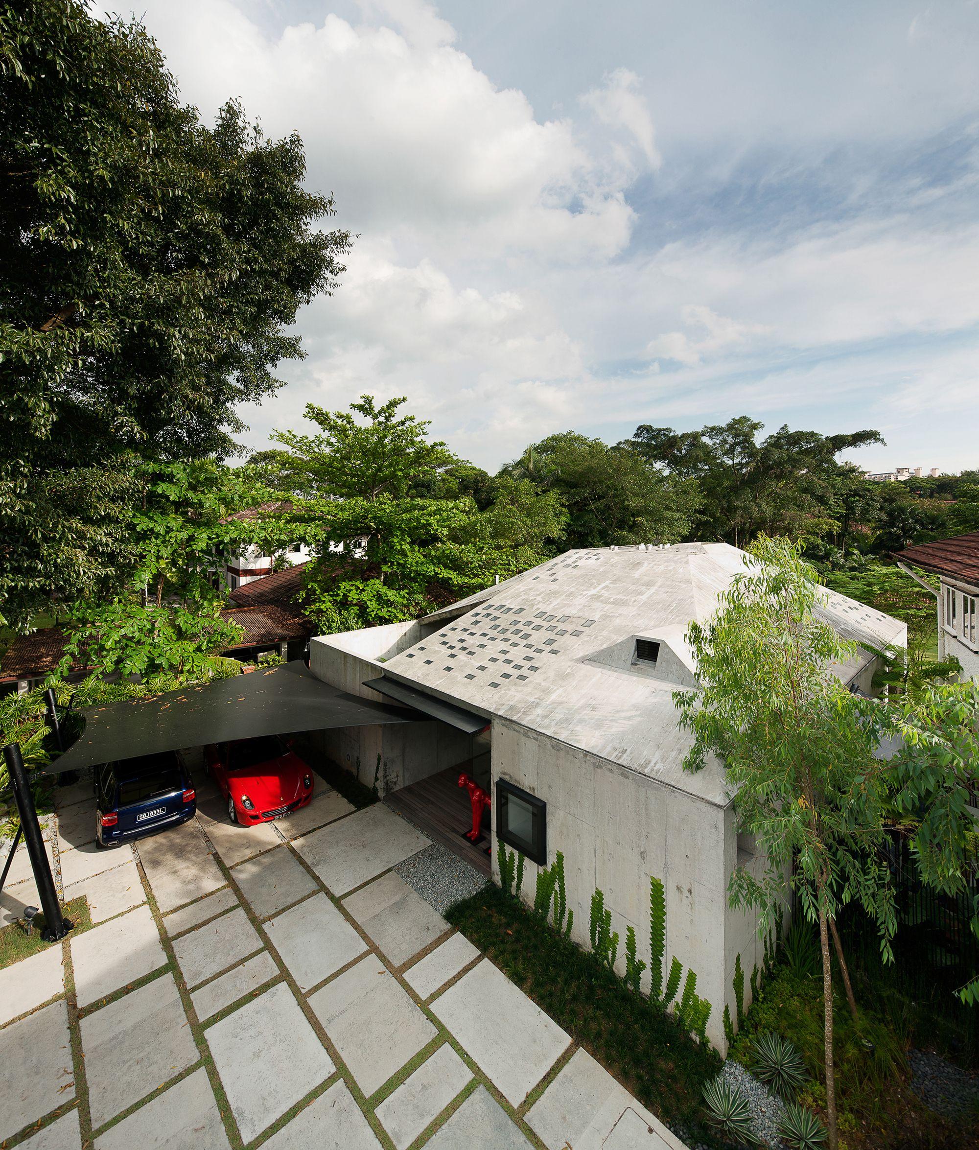 9 Leedon Park Ipli Architects Architecture Residential Architecture Concrete House