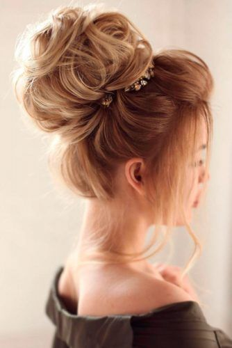 Hairstyles For Bridesmaids 33 Chic Updo Hairstyles For Bridesmaids  Bridesmaid Pictures Updos