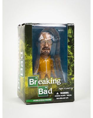 """Mezco toyz #breaking bad walter white 6"""" #bobblehead #figure - yellow hazmat suit,  View more on the LINK: http://www.zeppy.io/product/gb/2/222060999620/"""