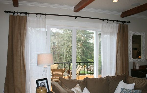 17 Best images about Curtains for Sliding Glass Doors on Pinterest ...