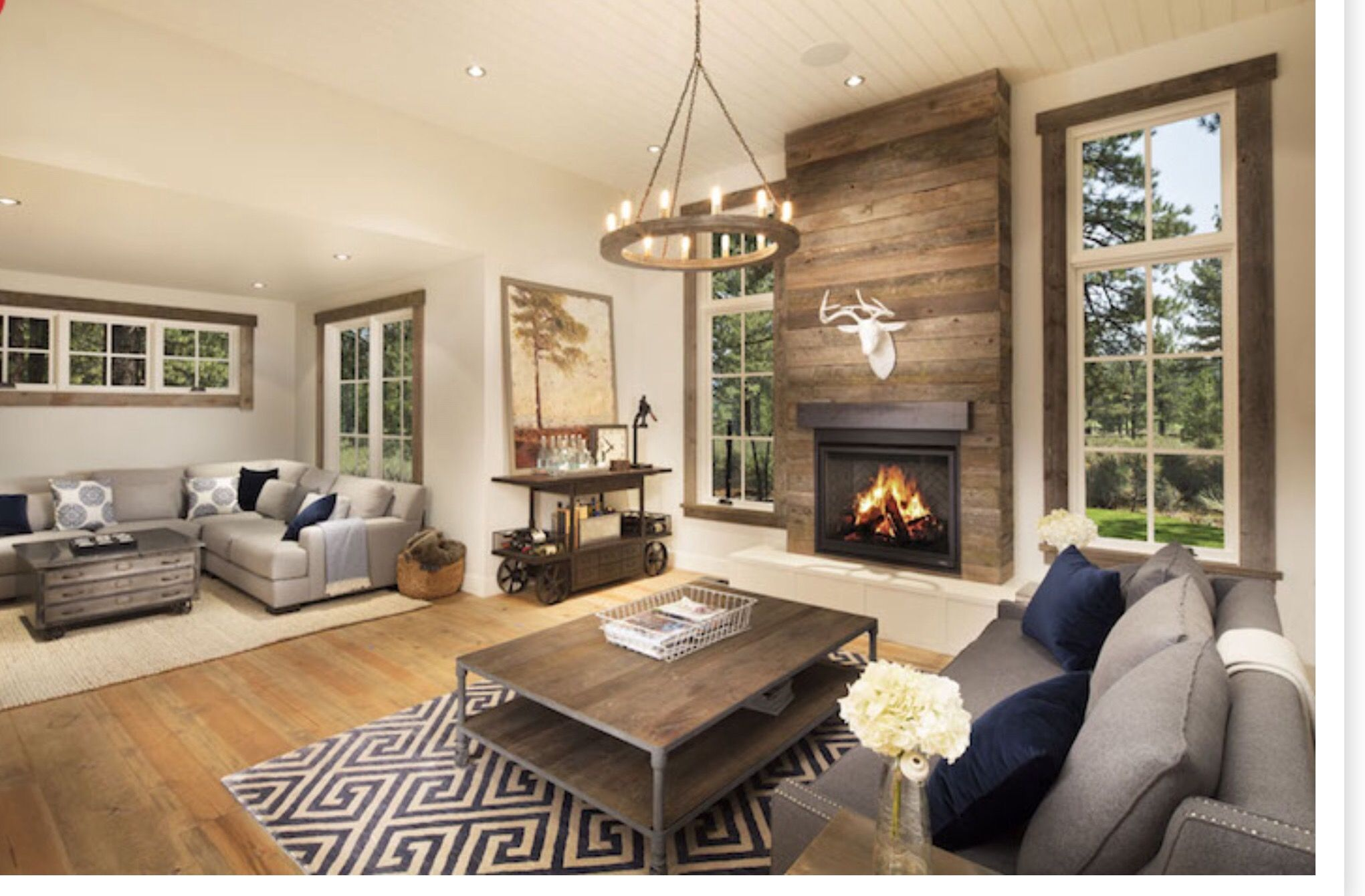 23 two sided fireplace designs in the lounge pacific northwest