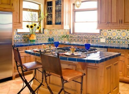 Image Result For Colorful Spanish Style Kitchen Mexican Style