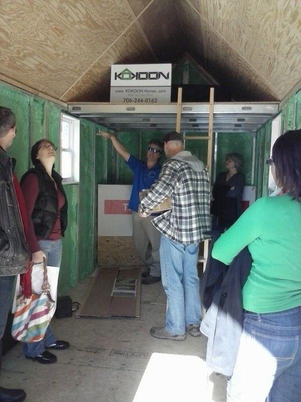 House · KoKoon Homes, Toccoa, GA, USA. Soy Foam / SIP Shells To Finish
