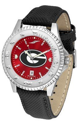 Georgia Bulldogs- University Of Competitor Anochrome- Poly/leather Band - Men's College Watches by Sports Memorabilia. $78.73. Makes a Great Gift!. Georgia Bulldogs- University Of Competitor Anochrome- Poly/leather Band