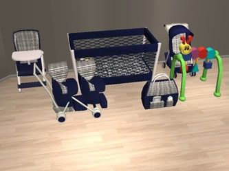 Mod the sims where can i find these nursery baby sets sims 2 downloads objects pinterest - Sims 3 babyzimmer ...