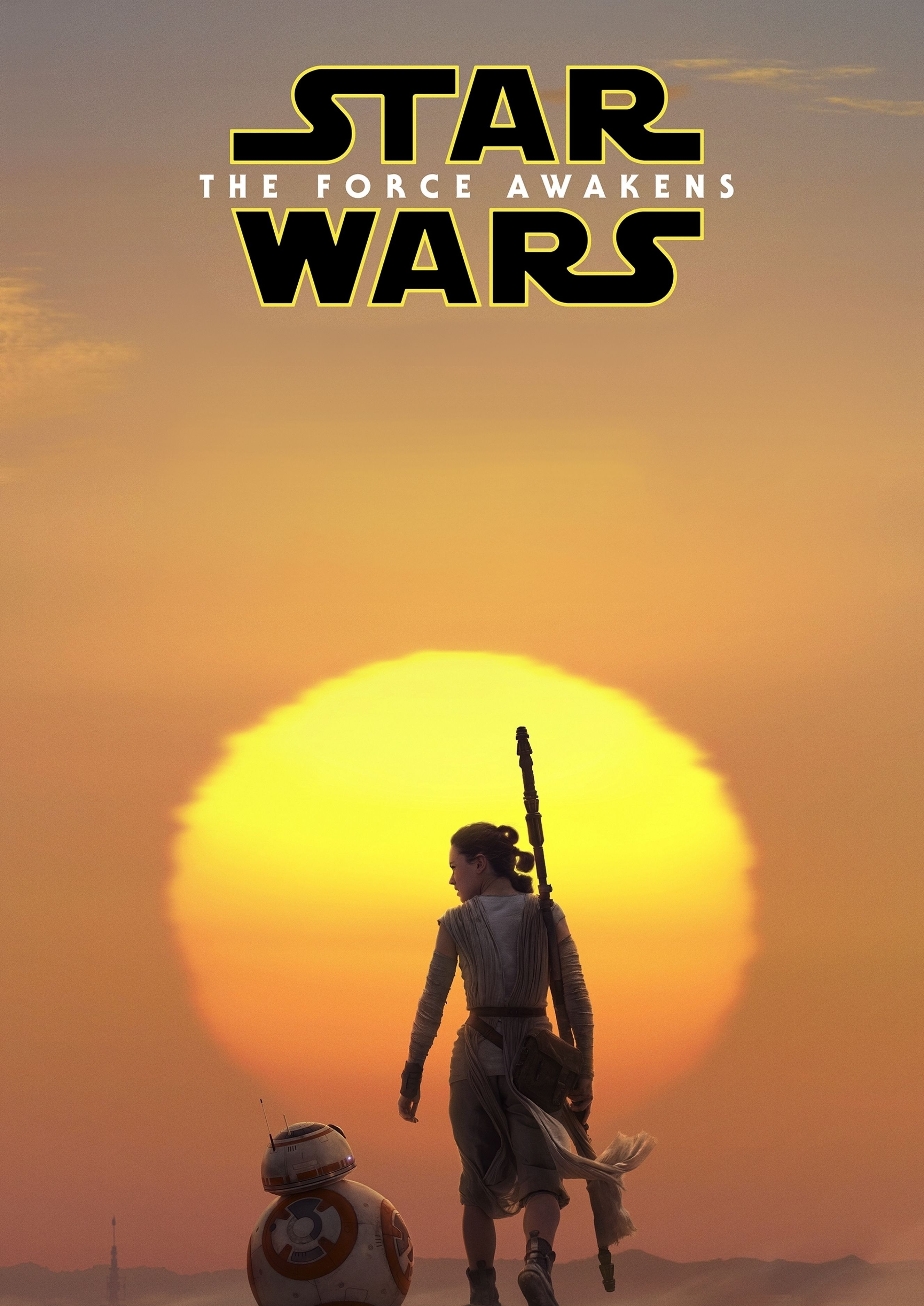 Star Wars The Force Awakens Rey IMAX Poster