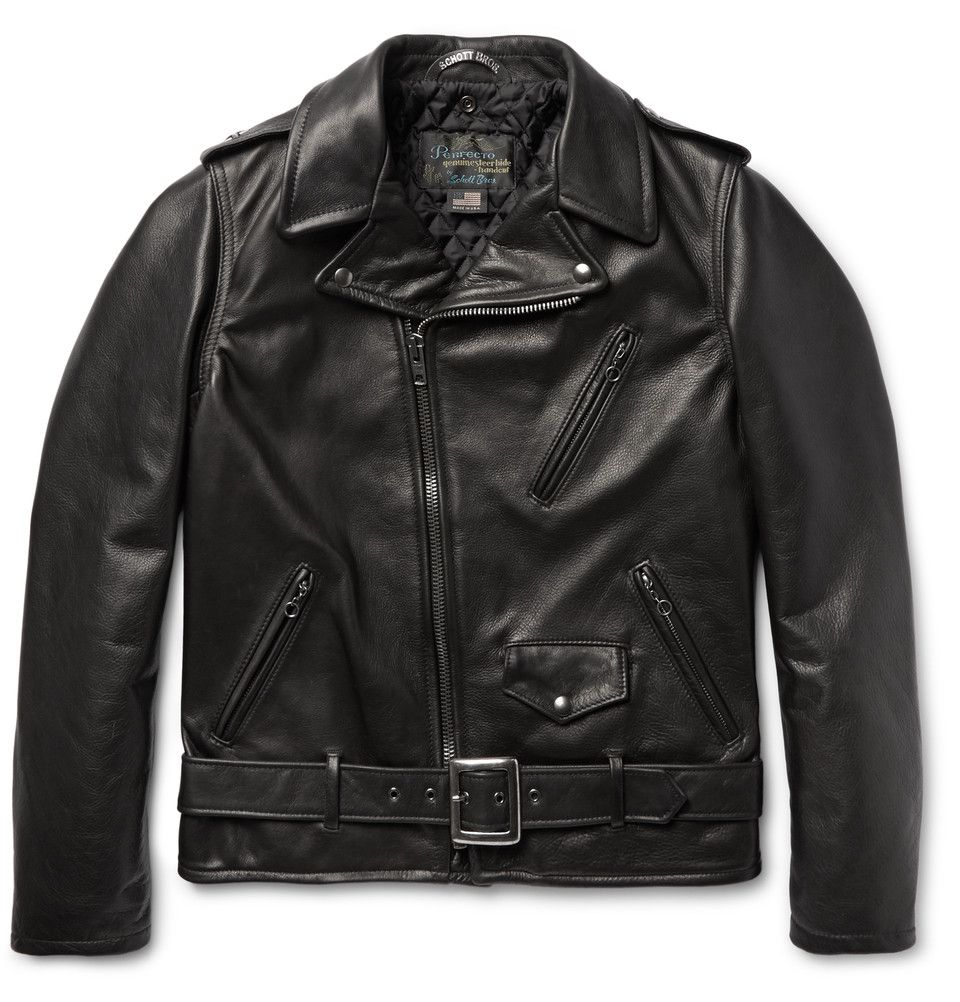 ae53489fa4 Schott - 50s Perfecto Leather Biker Jacket | Must Have | Leather ...