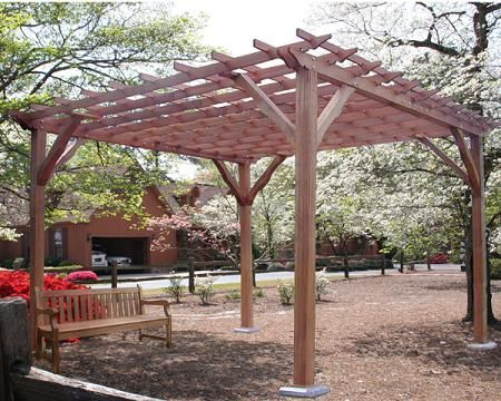 Temporary Pergola Cover