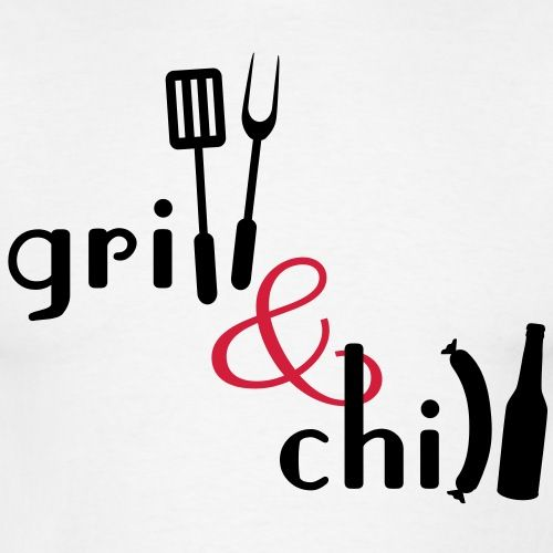Grill And Chill T Shirts Manner T Shirt Grillschurze Grillschurze Manner Nahen Fur Manner