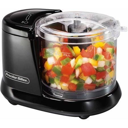 Price: $34.74 - http://bit.ly/2brCoEi - Pulse Speed Control Black Mini Food Chopper, Plastic, 1-1/2 Cups Capacity - Pulse speed control Capacity: 1-1/2 cups Dishwasher safe bowl, lid and blade