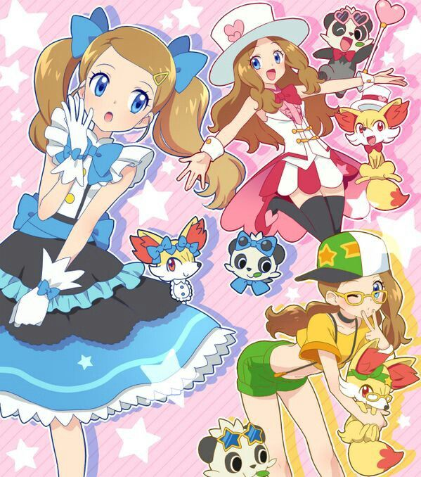 serena pokemon xy anime anime and drawing pinterest pokémon